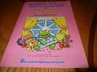 Muppet Babies Casio book
