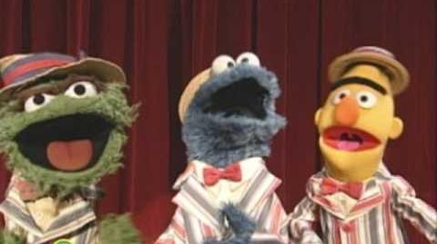 Sesame Street Pigeons and Cookies and Trash