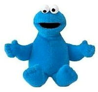 Gund cookie monster beanbag
