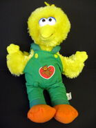 Play by play 2003 big bird plush 1