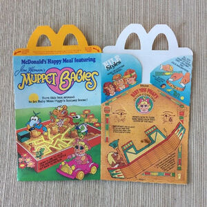 Muppet Babies Happy Meal box 01a
