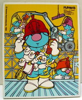 Playskool 1983 doozer puzzle fraggle rock