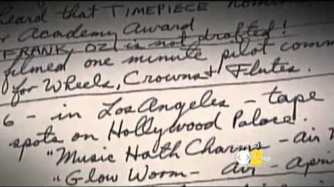 A peek into Jim Henson's diary