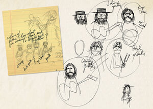 Beatles jim sketches