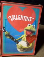 Hallmark 1981 box valentines kermit