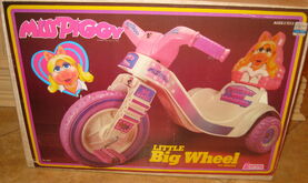Miss piggy little big wheel