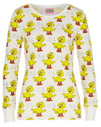 Peter alexander sesame big bird waffle long sleeve t