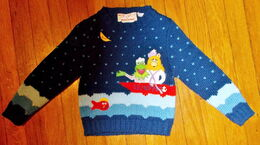 Ruth scharf 1981 piggy boat sweater 1