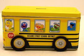 Tin box company bus tin