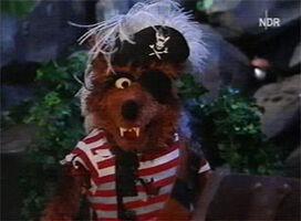 Piratenkapitän Wolfdietrich Säbelmeier