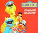 The Sesame Street People in Your Neighborhood 1991 Calendar