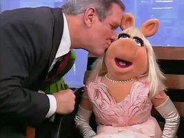 Charlie Gibson Miss Piggy