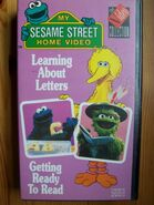 Letters Reading UK Video Collection VHS