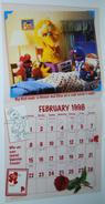 Sesame street calendar 1998 02