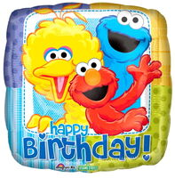 Bigbirdelmocookiemonsterbirthday