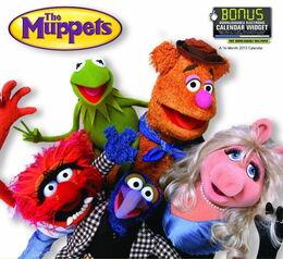 Muppet calendar 2013 a