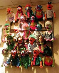 Muppet wall
