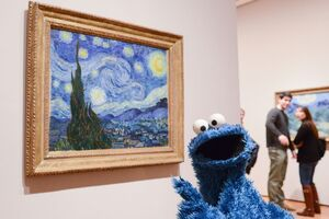 Museum of modern art starry night 1