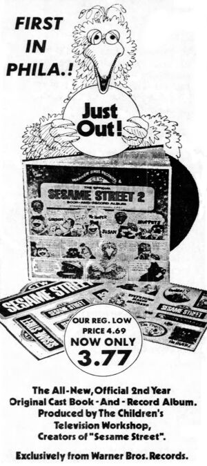 SS2 Book-and-Record Album newspaper ad