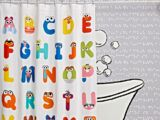 Sesame Street shower curtain (The Land of Nod)