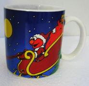 Applause 1998 christmas elmo mug 1