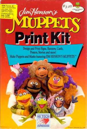 Hi tech 1989 muppet print kit 1