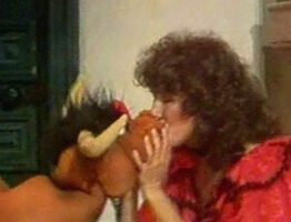 Kiss Melissa Manchester and a bull