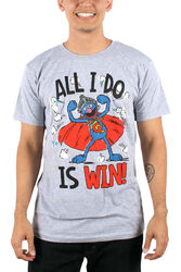 Mad engine win super grover t-shirt