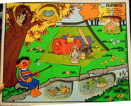 Playskool puzzle camping capers look and find 2
