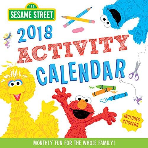 Sesame Street 2018 Activity Calendar | Muppet Wiki ...