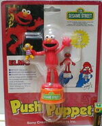 Sony creative products japan elmo push puppet baby david