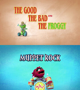 Title - The Good the Bad and the Froggy - Muppet Rock
