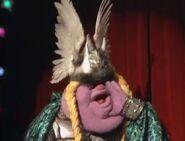 Big Head Opera Singer