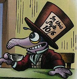Gonzo Hatter comic