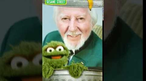 Snapchat filter Oscar the Grouch