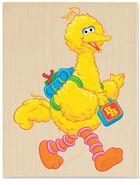 Stampabilities big bird goes to school