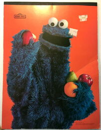 Aladdin drawing pad 1977 cookie monster 1