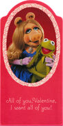 Hallmark piggy kermit valentines set 82 83 84 8