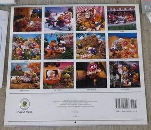 Nursery rhyme calendar 2
