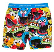 Peter alexander sesame mens sesame faces boxer short