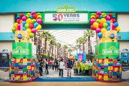 Universal studios singapore sesame street birthday blowout zone 1