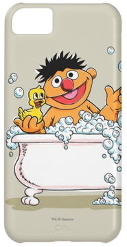 Zazzle vintage ernie in bathtub