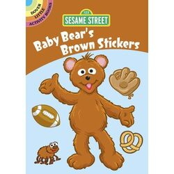 BabyBearsBrownStickers
