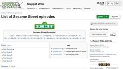 Creating a Sesame Street episode guide