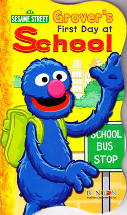 Grovers first day of school