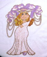 Martex 1980 miss piggy hand towel 2