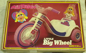 Marx miss piggy little big wheel