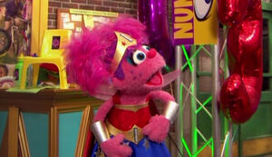 Abby Cadabby Wonder Woman