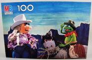 Milton bradley puzzle 1981 cowboys