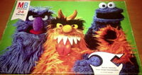 Milton bradley puzzle sesame street scenes monsters